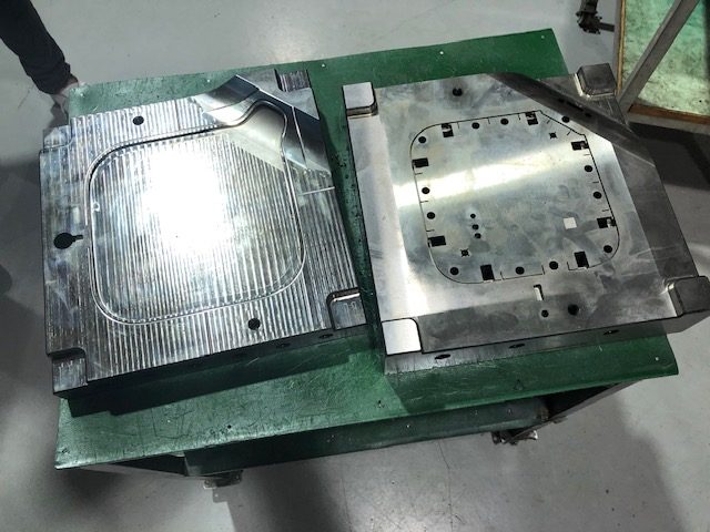 Injection mould tool outdoor siren